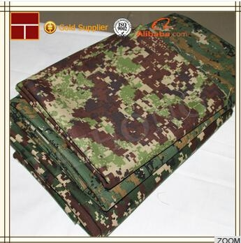 Pu/pvc Coated Waterproof Military Camouflage Oxford Fabric 1