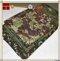 Pu/pvc Coated Waterproof Military Camouflage Oxford Fabric