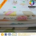 100% cotton printed muslin baby cloth fabric 5