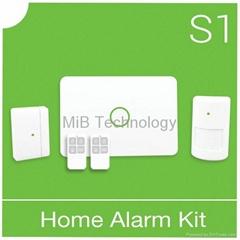 Smart home intruder alarm with voice record alarm S1/MIB Technology