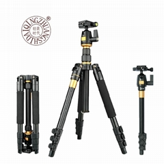 QZSD-555  professional tripod for camera