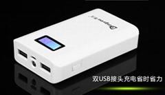 mBank® ATRYZ E5 10400mAh External Battery Charger with LCD screen of Highest-Ene