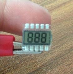 显示三个8最小LCD液晶屏