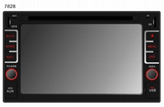 2 Din 6.95 inch universal Car DVD Player with GPS