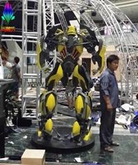 變形金剛大型機器人玻璃鋼雕塑