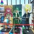 玻璃钢卡通雕塑海贼王系列人物摆件 2