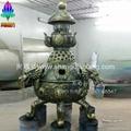 鍊丹爐雕塑