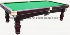 8ft Billiard Snooker Table
