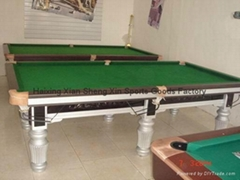 10ft*5ft snooker table