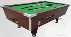7ft coin operated pool table