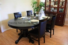 96'' poker dining table