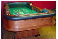 96'' craps table