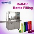 10ml perfume roll on glass bottle filling labeling machine 1