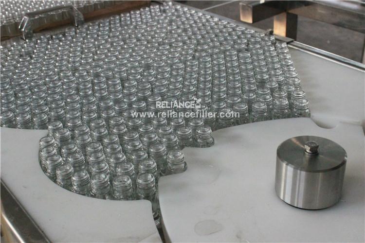 10ml perfume roll on glass bottle filling labeling machine 4