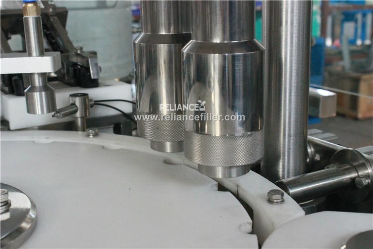 10ml perfume roll on glass bottle filling labeling machine 5