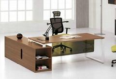 实木大班台|时尚大班台|木皮班台|老板办公桌