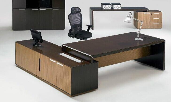 实木大班台|时尚大班台|木皮班台|老板办公桌 2