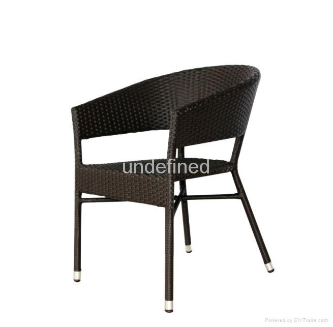 戶外休閑傢具編藤星巴克餐廳咖啡廳桌椅 3
