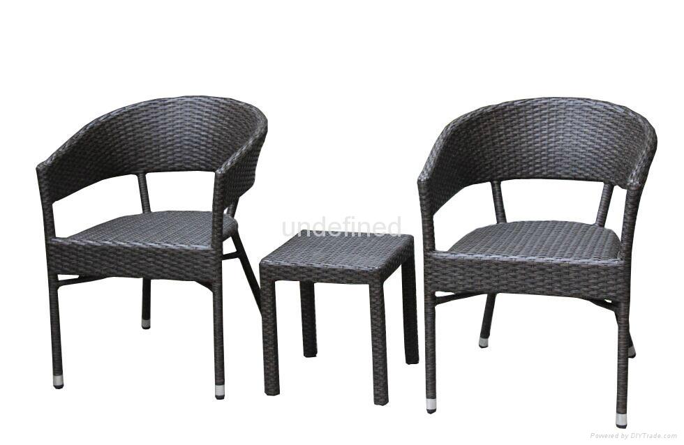 户外休闲家具编藤星巴克餐厅咖啡厅桌椅 2
