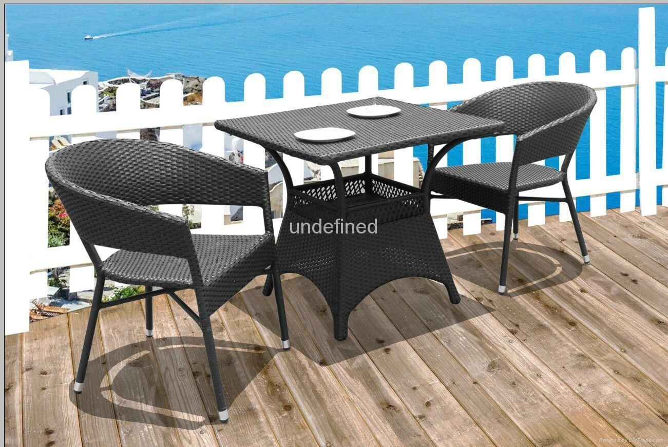 户外休闲家具编藤星巴克餐厅咖啡厅桌椅 1