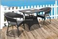 戶外休閑傢具編藤星巴克餐廳咖啡廳桌椅 1