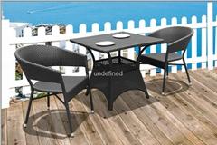户外休闲家具编藤星巴克餐厅咖啡厅桌椅