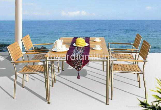 歐洲現代風格戶外陽台休閑桌椅 2