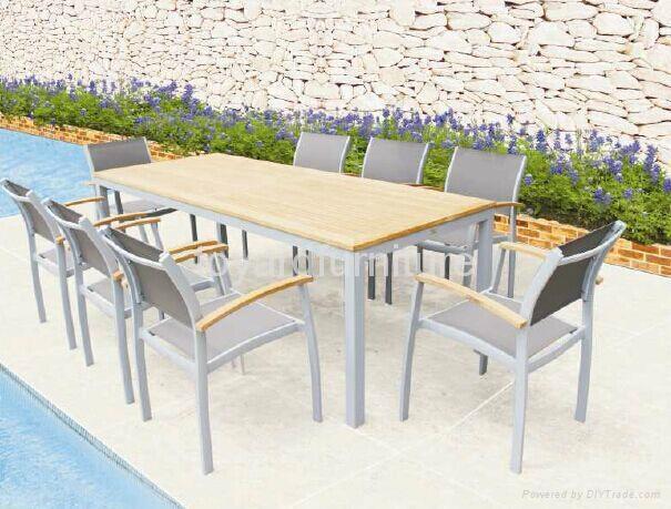 歐洲現代風格戶外陽台休閑桌椅 3