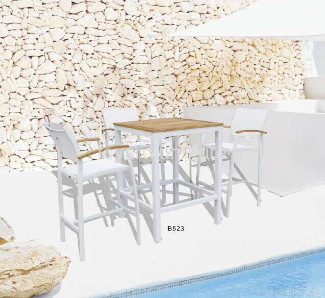 歐洲現代風格戶外陽台休閑桌椅 5