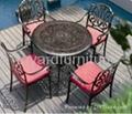 欧式流行风格户外庭院花园家具编藤休闲椅 5
