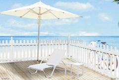 户外沙滩泳池家具特斯林太阳椅懒人椅沙滩躺椅