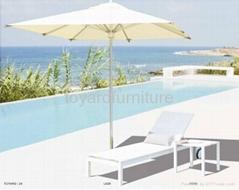 度假村酒店别墅沙滩泳池户外休闲家具特斯林沙滩泳池躺椅懒人椅
