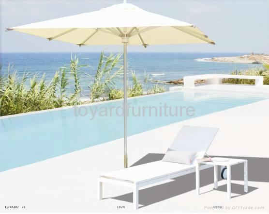 酒店度假村户外家具编藤沙滩椅懒人躺椅 3
