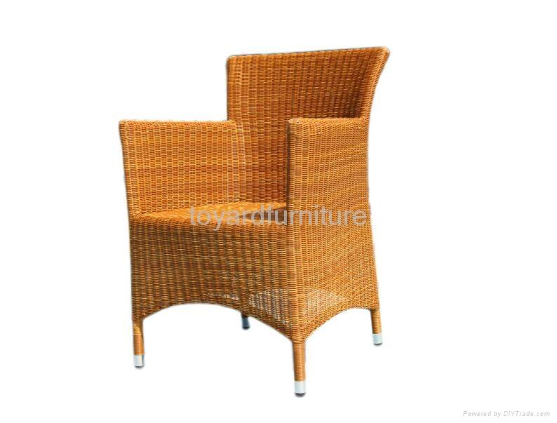 現代簡約風格戶外露台陽台休閑傢具編藤月亮椅 5