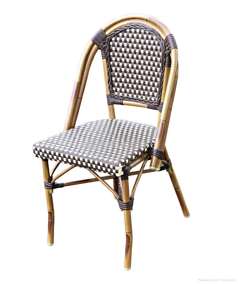 戶外休閑傢具編藤星巴克餐廳咖啡廳桌椅 4