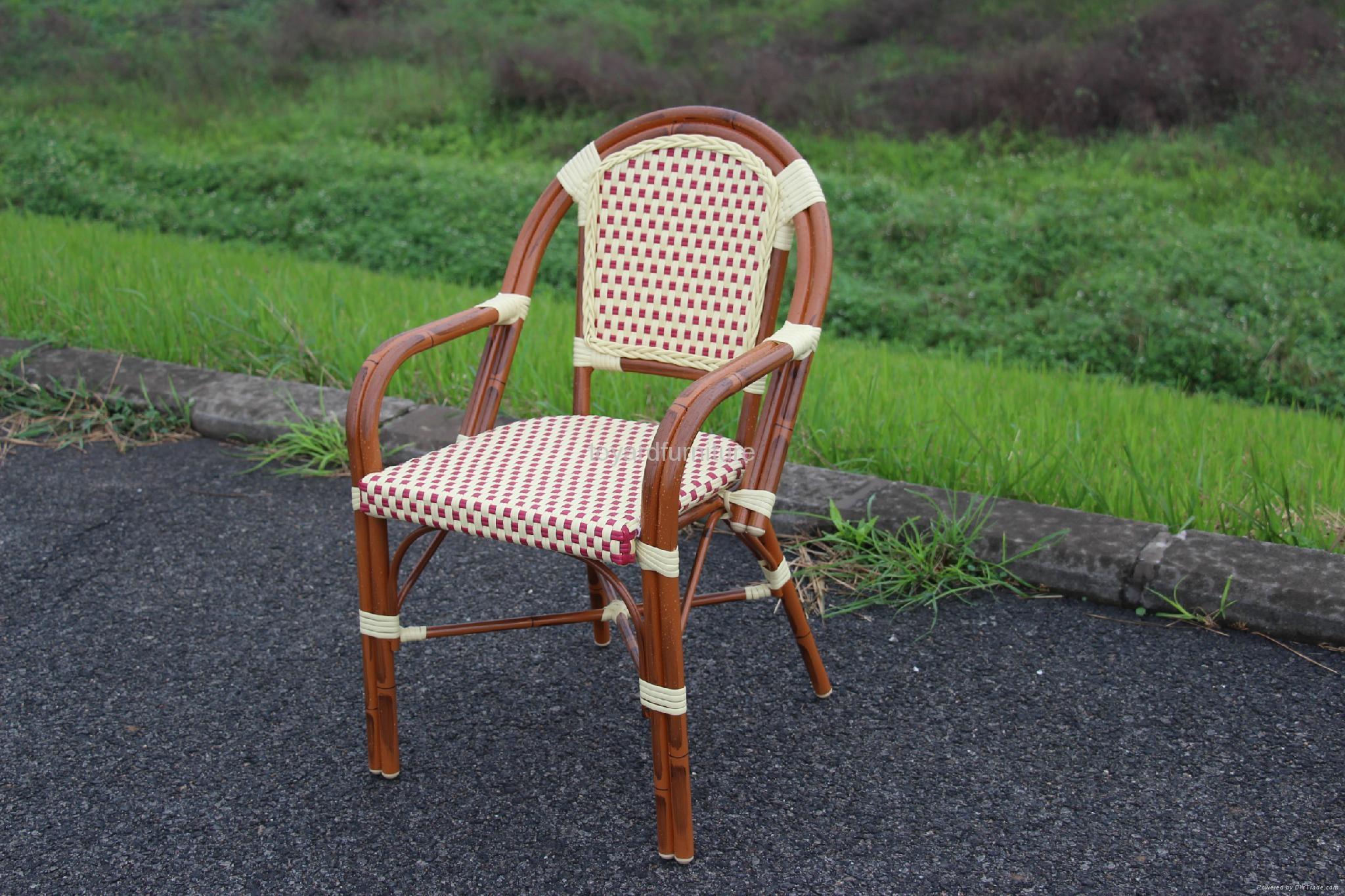 户外休闲家具编藤星巴克餐厅咖啡厅桌椅 5