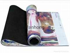 Natural rubber mat