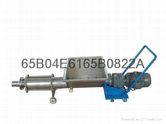 螺杆式果漿泵