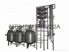 白蘭地專用葡萄果渣蒸餾機組