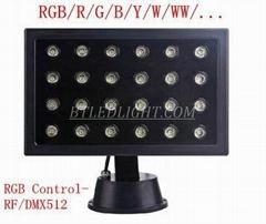 36w 48w Big LCD Display Floodlight LED Wall Washer