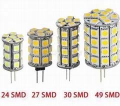 SMD 5050 24 27 30 49 Dc 12v LED G4 LED Bulb