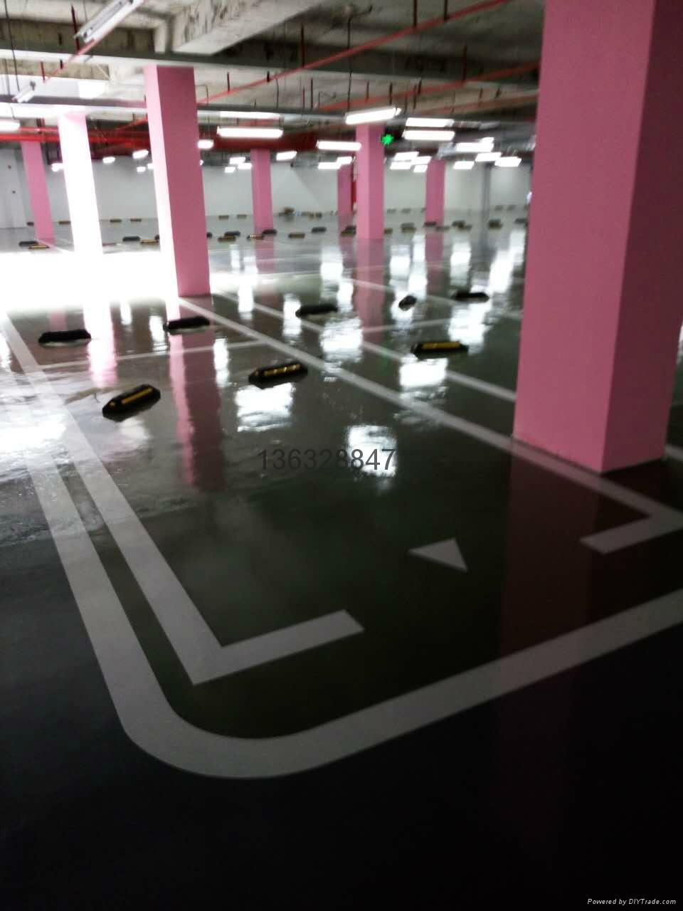 停車場劃線-冷塗 2