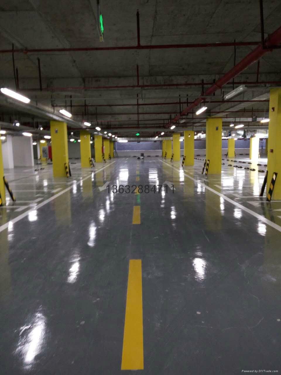 停車場劃線-冷塗 5