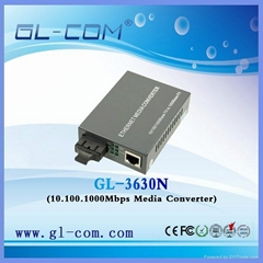 Etherent Media Converter 10/100/1000M Base-TX