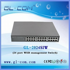 16 Port 10/100M Mini Management Ethernet Switch