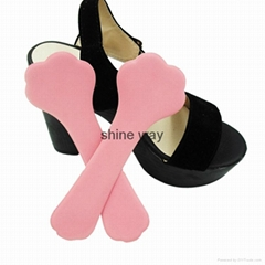 Latex foam insole for lady shoes 3/4 length insole