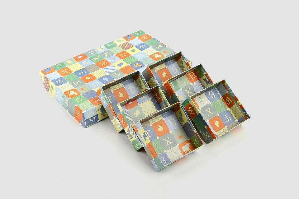 Cartoon printed paper boxes 1