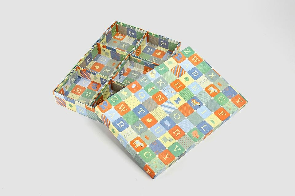 Cartoon printed paper boxes 3