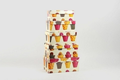 Rectangle shape paper boxes