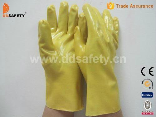 Yellow PVC glove-DPV103 1
